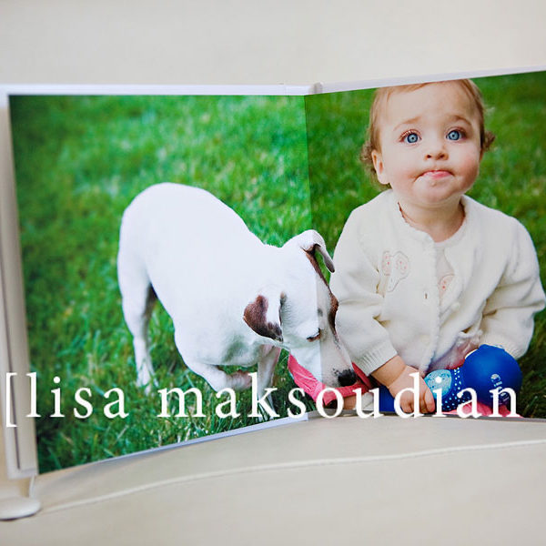 .modern flush mount album.    lisa maksoudian-kids photographer