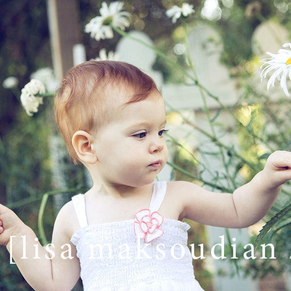 .stop and smell the daisies.    lisa maksoudian-san luis obispo baby photographer