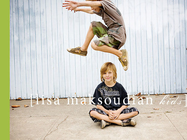 .they loved the jump.  lisa maksoudian--california kids photographer