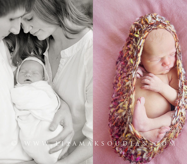 The Loving Arms That Hold  |  California Newborn Photographer